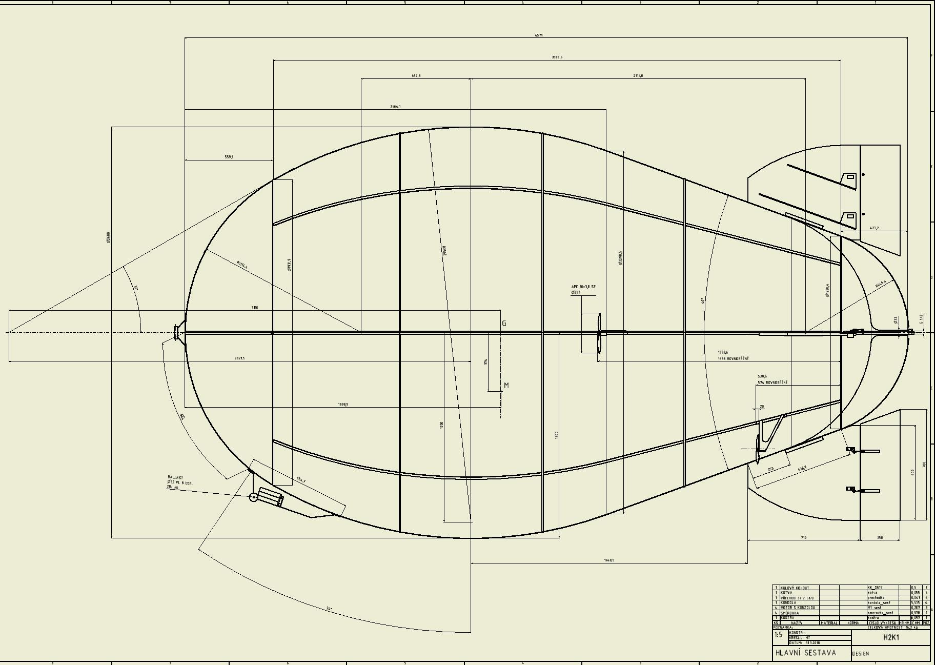 rigid RC airship \ project H2 – TECHBLOK